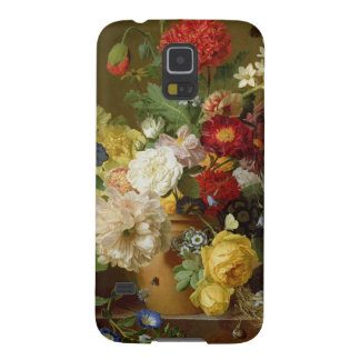 Flower Still Life on a marble ledge, 1800-01 Galaxy S5 Cases
