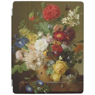 Flower Still Life on a marble ledge, 1800-01 iPad Cover