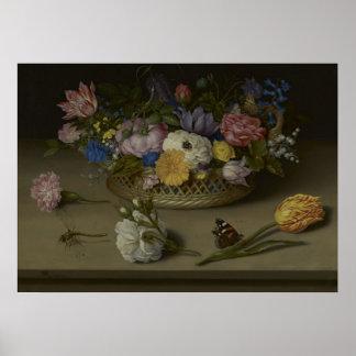 Flower Still Life Poster