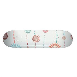 flower strings whimsical vector pattern 2 ai skate boards