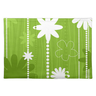 Flower structure placemat