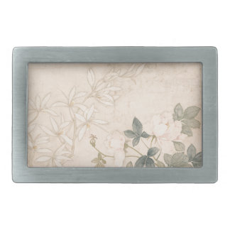 Flower Study 2 - Yun Bing (Chinese) Belt Buckles