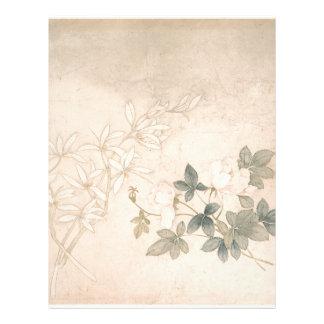 Flower Study 2 - Yun Bing (Chinese) Letterhead