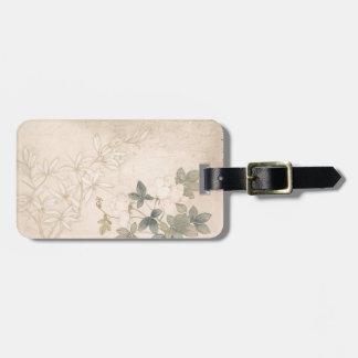 Flower Study 2 - Yun Bing (Chinese) Luggage Tag