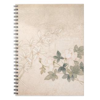 Flower Study 2 - Yun Bing (Chinese) Notebook