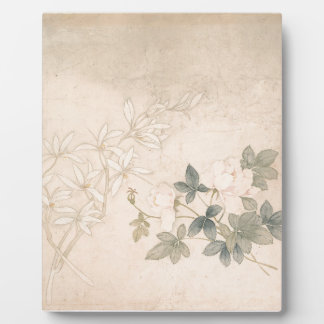 Flower Study 2 - Yun Bing (Chinese) Plaque