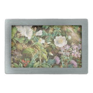 Flower Study - John Jessop Hardwick Belt Buckle