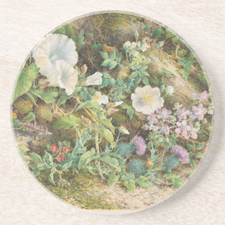 Flower Study - John Jessop Hardwick Coaster