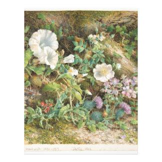 Flower Study - John Jessop Hardwick Letterhead