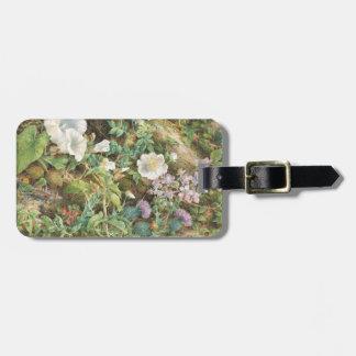 Flower Study - John Jessop Hardwick Luggage Tag