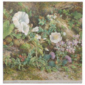 Flower Study - John Jessop Hardwick Napkin