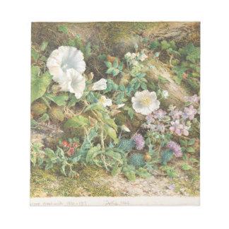 Flower Study - John Jessop Hardwick Notepad