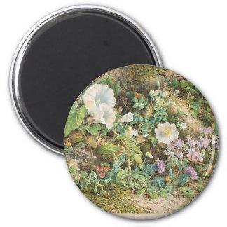 Flower Study Magnet