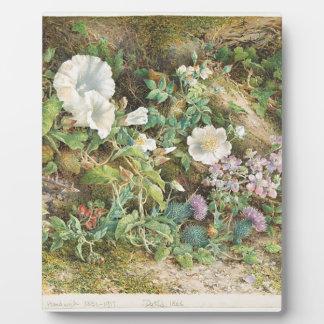 Flower Study Plaque