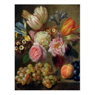 Flower Study Postcard