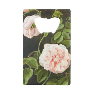 Flower Study Wallet Bottle Opener