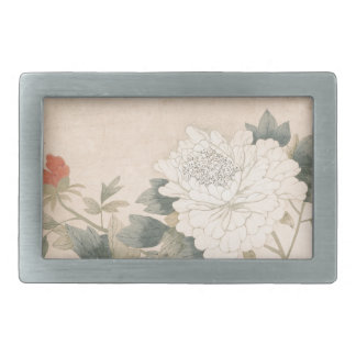 Flower Study - Yun Bing (Chinese) Belt Buckle