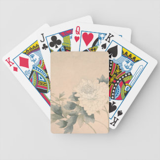 Flower Study - Yun Bing (Chinese) Bicycle Playing Cards