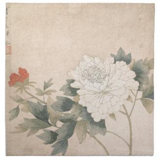 Flower Study - Yun Bing (Chinese) Napkin