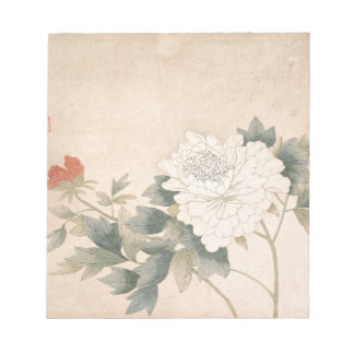 Flower Study - Yun Bing (Chinese) Notepad