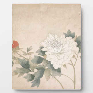 Flower Study - Yun Bing (Chinese) Plaque