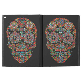 Flower Sugar Skull iPad Pro Case