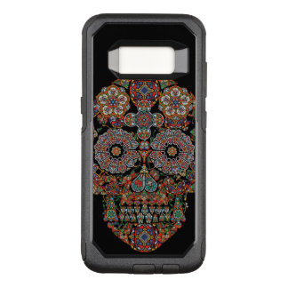 Flower Sugar Skull OtterBox Commuter Samsung Galaxy S8 Case