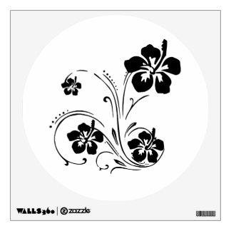 Flower Tattoo Wall Sticker