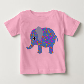 Flower the Elephant - Baby Fine Jersey T-Shirt