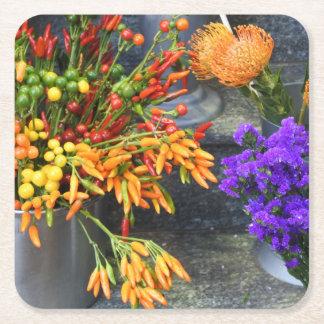 Flower-Theme Coaster