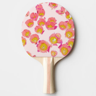 Flower Therapy Ping Pong Paddle