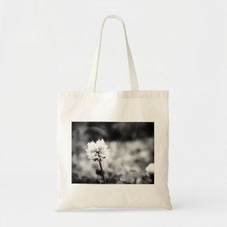 Flower totobatsugu of monochrome photograph tote bag