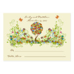 Flower Tree Table Place Cards
