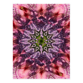 Flower Twist Mandala 2015 Postcard