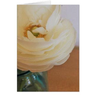 Flower up close card