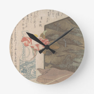 Flower Vase and Lacquer Box - Chinese Round Clock