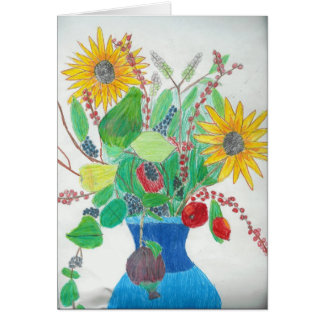 Flower Vase by Lauren Card