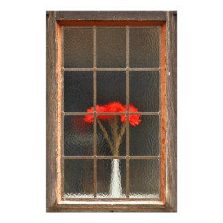 Flower vase customized stationery