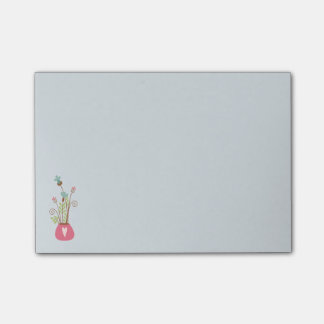 Flower Vase Notepad