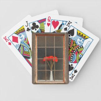 Flower vase poker deck
