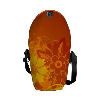 Flower Vectors Courier Bag
