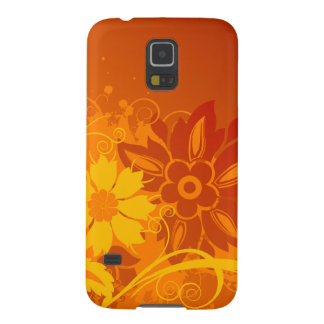 Flower Vectors Galaxy S5 Cases