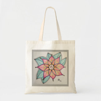 Flower (warm) Tote