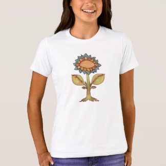 Flower - Watercolor Painting T-Shirt