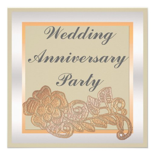 10th Wedding Anniversary Invites, 2,000 10th Wedding