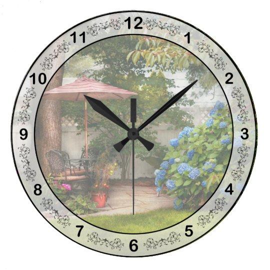 Flower - Westfield, NJ - Private paradise Wall Clocks