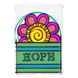Flower with hope iPad mini covers
