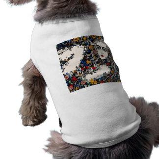 Flower Woman dog coat Doggie Tshirt