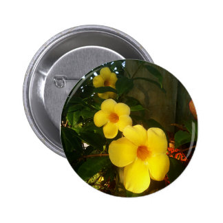 Flower Yellow Cocoa Beach 2014 jGibney The MUSEUM 2 Inch Round Button