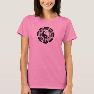 Flower Yin Tang Symbol T-Shirt